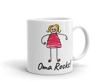 Oma Rocks! Mug