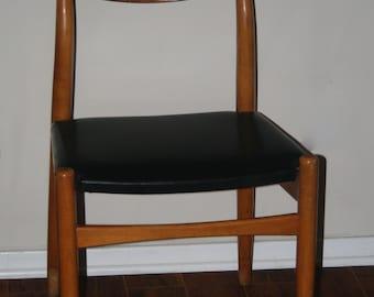 Vintage Mid Century Modern Side Chair