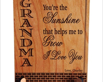 Great Grandma Gift - Gifts for Mother's Day Personalized - Grandmother Gift from Grandchildren, PGM018