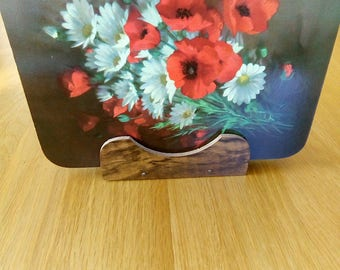 Unused Vintage FloralPlacemats, Boxed, As New Condition