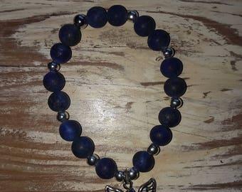 Handmade Blue Lapis Bracelet