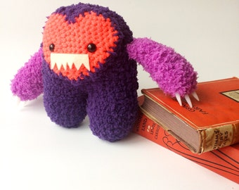 Purple and Pink Imp Monster