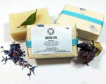 Neem Oil Natural Handmade Soap SLS Free
