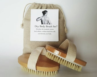 The Dry Body Brush Set
