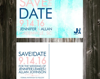 Save the Date Watercolor Postcards (100)