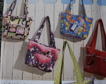 Simplicity 3822 Crafty Bags by Faith Van Zanten (uncut)