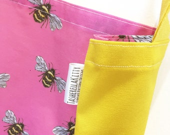 Exclusive Print - Tote Bag - Shopper Bag - Painted Bee