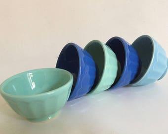 "5 small bowls ""Moulin des Loups"""
