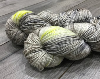 CASH (merino/cashmere/nylon sock) - The Owls are Not What They Seem , handdyed yarn