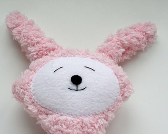 Pink Easter Bunny - Stuffie - Stuffed Animal - Super Soft Plushie