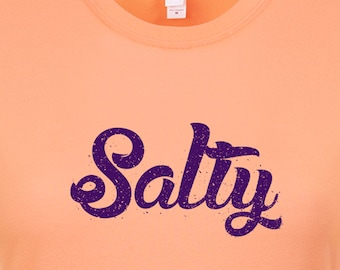 Beach lovers Salty Mens & Ladies Tshirt, Beach Shirt, Gift for Him, Gift for Her