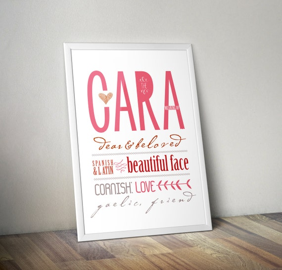 Cara new mother gift cara meaning my name download baby negle Gallery