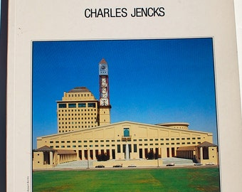 The Language of Post-Modern Architecture Charles Jencks  Fifth Edition 1987 vintage book