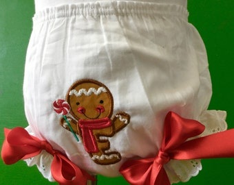Gingerbread Man Bloomers