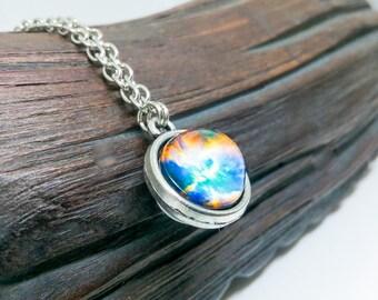 Tiny bracelet, Small bracelet, Galaxy bracelet, Universe bracelet, Space jewelry, Nebula jewelry, Space bracelet, Galaxy jewelry, Charm