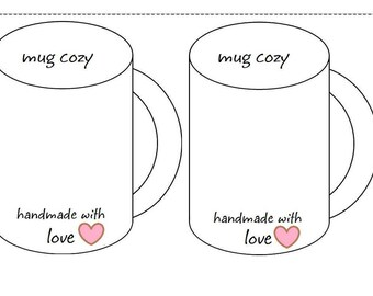 Crochet Coffee Mug Cozy Insert For Displaying Your Mug Cozies