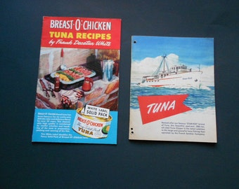 Star Kist Tuna and Breast-O-Chicken Vintage Advertising Cookbooklets