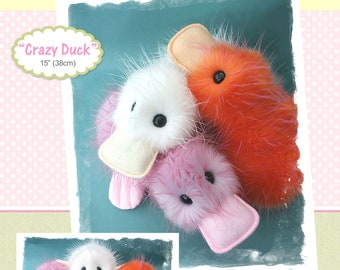 PDF - Crazy Duck Sewing Pattern - Instant download