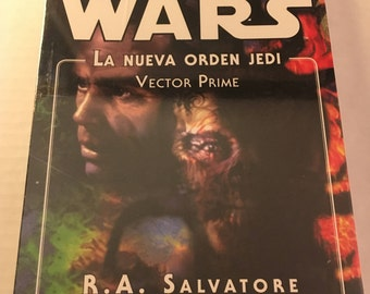 Star Wars: Vector Prime - The New Jedi Order - by R.A. Salvatore (Spanish edition paperback)