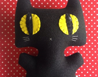 NEW *Big* Minou Kitty - Eco-friendly Felt Plush Kitty