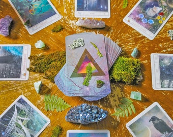 Universal Mind Oracle Deck: Preorder, Inspiration Cards, Oracle Cards, Altar Tools, Tarot Card Deck, Card Deck, Tarot Reading, Oracle