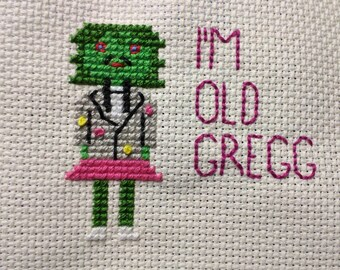 Old Gregg Cross Stitch