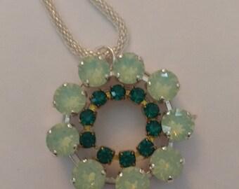 Vintage Crystal pendant