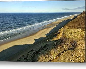Longnook Beach, Truro - Fine Art Canvas Print, Cape Cod, Seashore, Beach