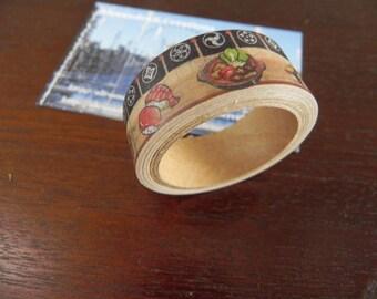 SUSHI! 1 masking tape original sushi themed
