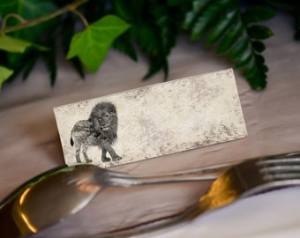 Game of Thrones, Wedding Party Place Setting, Name Cards, Blank
