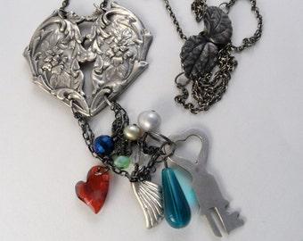Victorian Lock Necklace