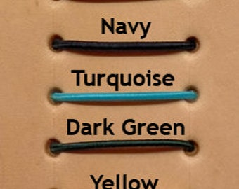 Elastic Cord, various colours. Re-string your Traveller's Journal Cover, Fauxdori.