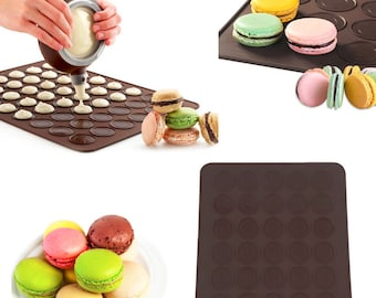 Macaron patisserie made of silicone ref A40100