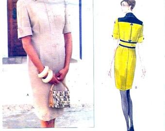 Vogue Paris Original Designer Montana dress vintage 90s sewing pattern Vogue 1935 UNCUT FF Size 6 to 10