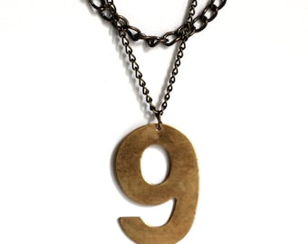 Lucky Number Necklace - No. 9
