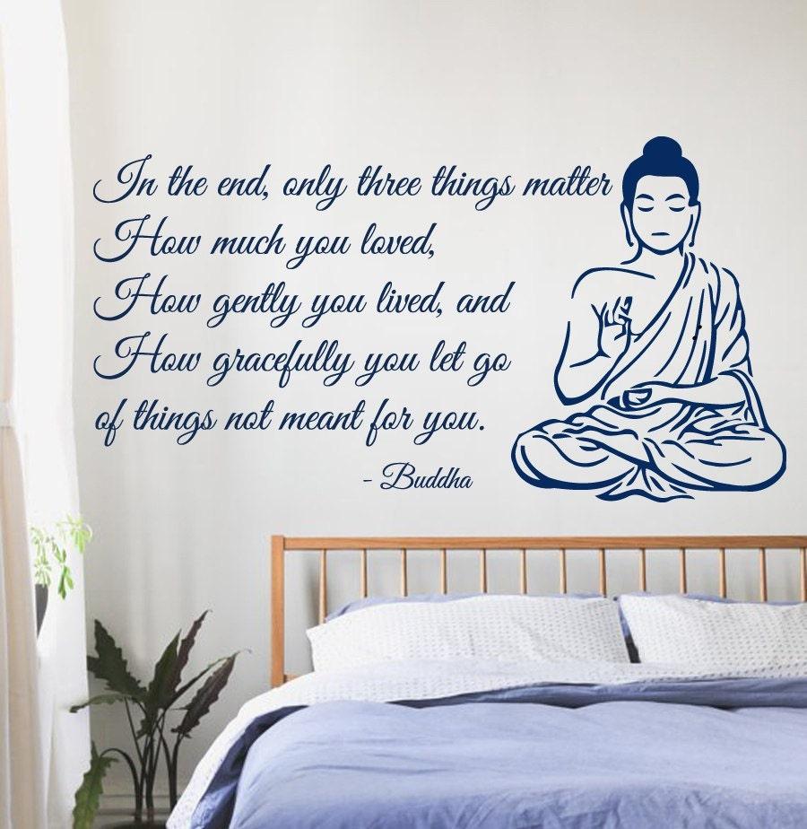 Description. Buddha Wall Decals ...