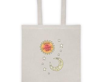 Game of Thrones Dothraki Sun Moon and Stars Tote bag