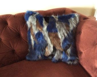 Matterhorn faux fur pillow