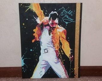 Freddie Mercury painting