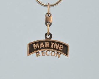 Marine Recon Key Chain