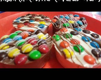 M&M Chocolate Dipped Oreos
