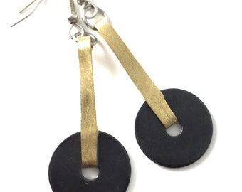 Dangle Earrings Metal and Hardware Jewelry