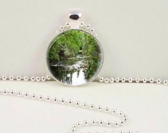 Florida River Pendant or Key Chain