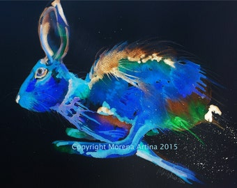 Print Cosmic Hare on Epson Photographic Paper
