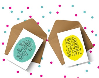 MH SPOONIE SUPPORT Card Bundle, Compassion Card, Supportive Card, Supportive Friend, Emotional Health Card, Cheer Up Card, Comfort Card