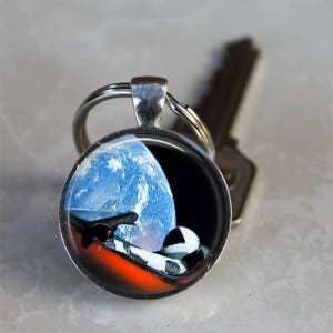 Tesla Roadster..Starman..Space X..Falcon Heavy..Space Enthusiast..Pendant, Necklace or Key Ring