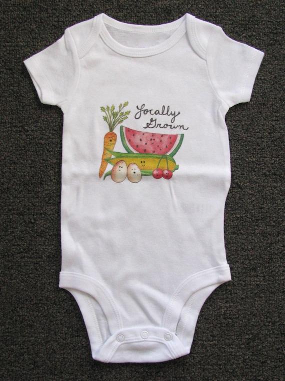 Cute Baby bodysuit Unique Baby clothes Baby Farm Clothes