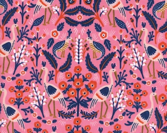 Sale!!- Tapestry in Rose- Les Fleurs by Rifle Paper Co for Cotton and Steel