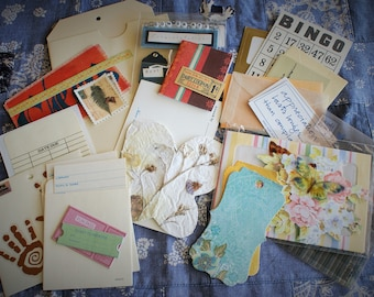 Fun Mail: Collage, Journal, Scrapbook Package