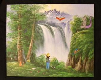 Pokemon Wall Art Painting